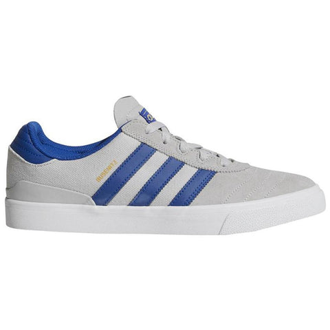 Adidas Busenitz Vulc Skate Shoe Light Grey Royal White CQ1166 pure board shop