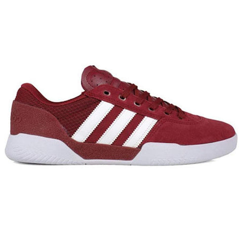 Adidas City Cup Skate Shoes Burgundy White CQ1082 Adidas Q2 2018 pure board shop
