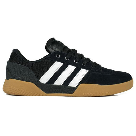 Adidas City Cup Skate Shoes Core Black/Footwear White/Gum Adidas Spring 2018 pure board shop