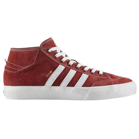 Adidas Matchcourt Mid MJ Skate Shoes Mystery Red/Crystal White/ Gold Metallic pure board shop