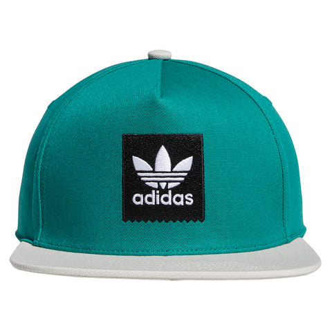 6fd459ca7ff Adidas 2Tone Snapback Hat Action Green Raw White