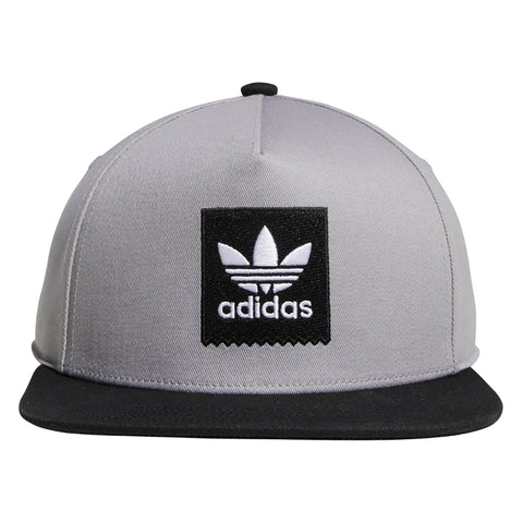 e475fe5bda3 Adidas 2Tone Snapback Hat Light Granite Black