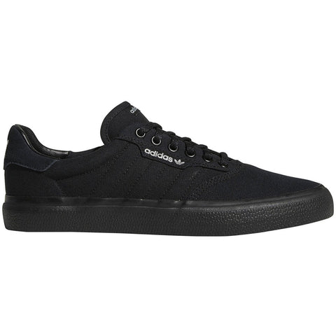 Adidas Skateboarding 3MC Skate Shoes Black Black Grey Two Canvas B22713 pure board shop