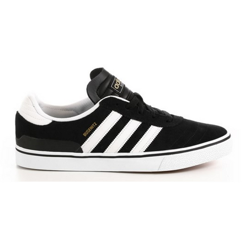 Adidas Skateboarding Busenitz Vulc Skate Shoe Black/White - Pure Board Shop