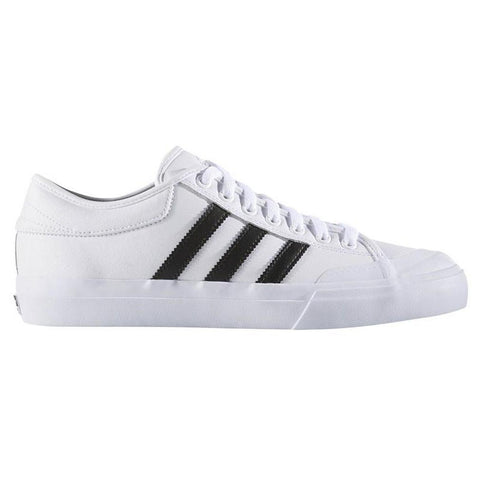 Adidas Skateboarding Matchcourt ADV Skate Shoes White/Black/White BB8557