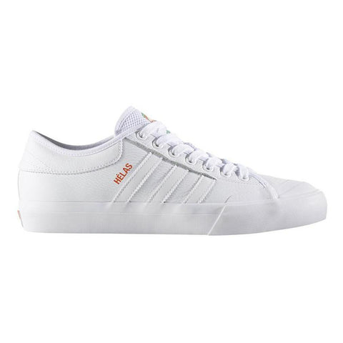 Adidas X Helas Matchcourt Skate Shoes White/White/White BY4535 pure board shop