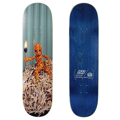Alien Workshop Icon Series Skateboard Deck match man pure board shop