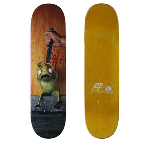 Alien Workshop Icon Series Skateboard Deck Stabbing pure board shop