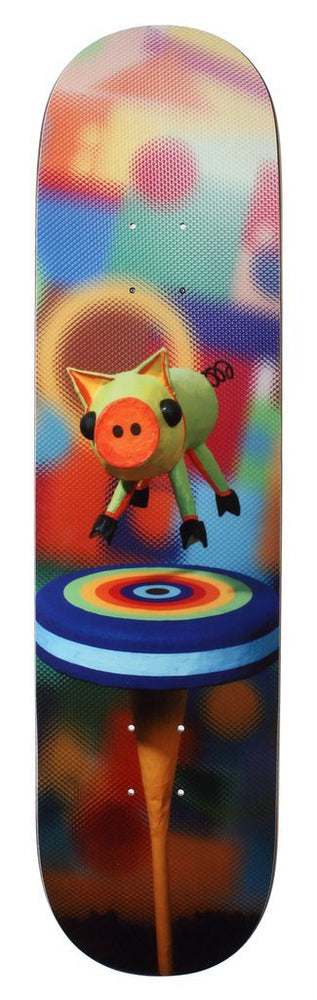 Alien Workshop Icon Series Slick Bottom Limited Edition Skateboard Deck Floating Pig
