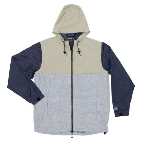 All Good Solo Summit Jacket Grey pure board shop