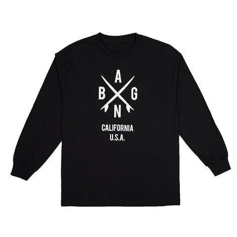 All Good Surf X Long Sleeve T-Shirt Black