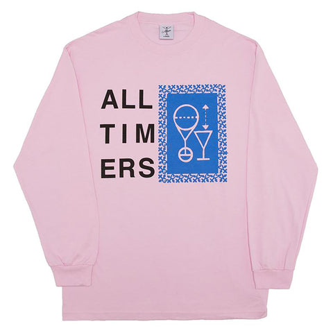 Alltimers Alltimers Etching Sketchy Long Sleeve T-Shirt Pure Board Shop