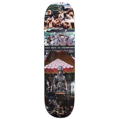 Alltimers Frat Boys VS Steampunk Skateboard Deck 8.25