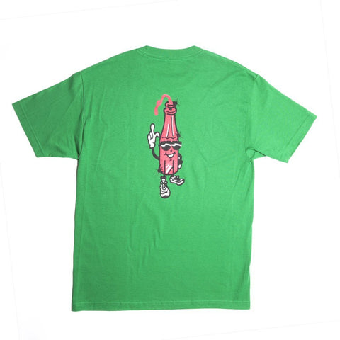 Alltimers Ketchup T-Shirt Green pure board shop