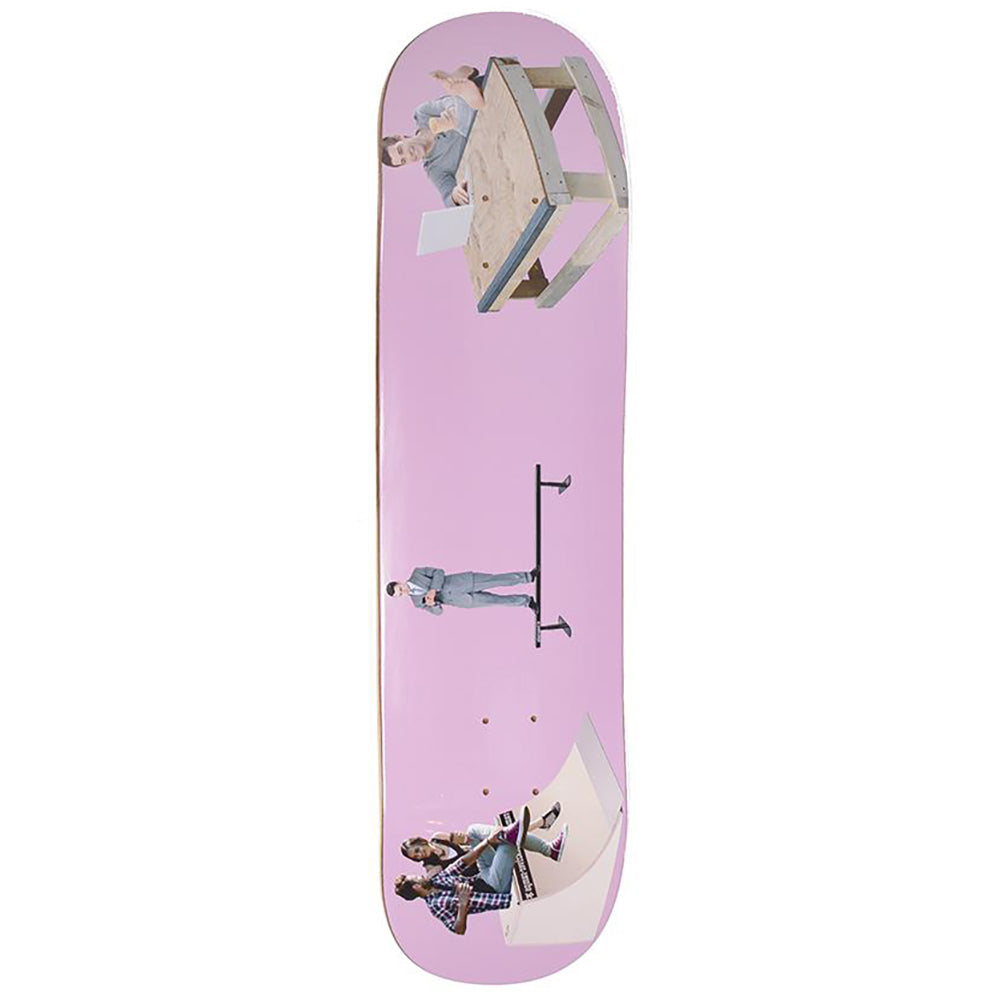 Alltimers Sk8 Park Friends Skateboard Deck 8.1