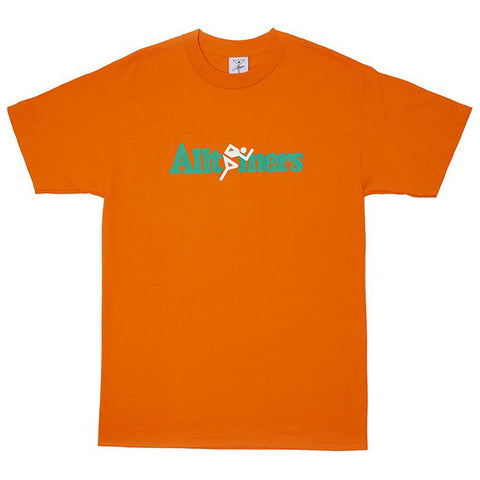 Alltimers Springer T Shirt Orange Alltimers Fall 2018 pure board shop