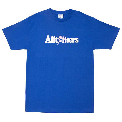 Alltimers Springer T Shirt Royal Blue Alltimers Fall 2018 pure board shop