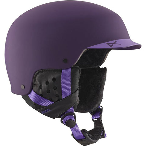 Anon Aera Womens Snowboard Helmet Purple