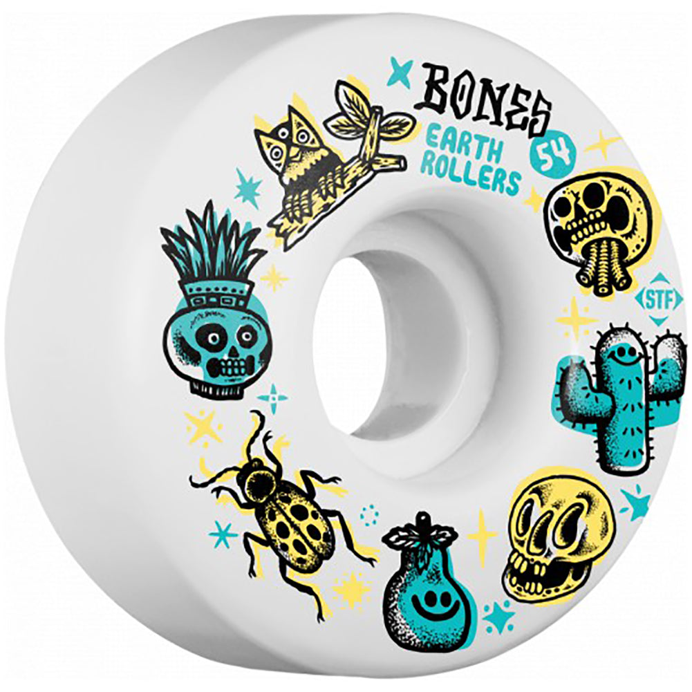 Bones STF V1 Earth Roller Skateboard Wheels