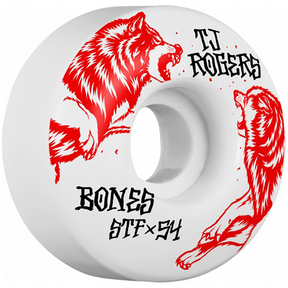 Bones STF V3 Rogers Survival Skateboard Wheels