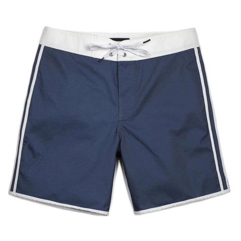 Brixton Drexel Swim Trunk Navy/White pure board shop