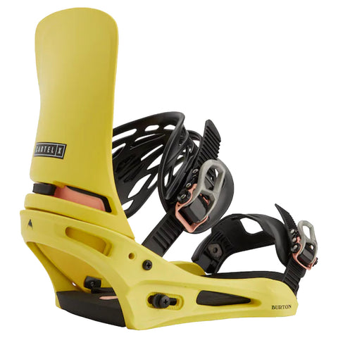 Burton Cartel X Snowboard Binding ReFlex 2020 2021 Yellow 22230100700 pure board shop