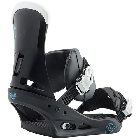 Burton Custom Mens Snowboard Binding 2019 Black Multi 10542105022 pure board shop