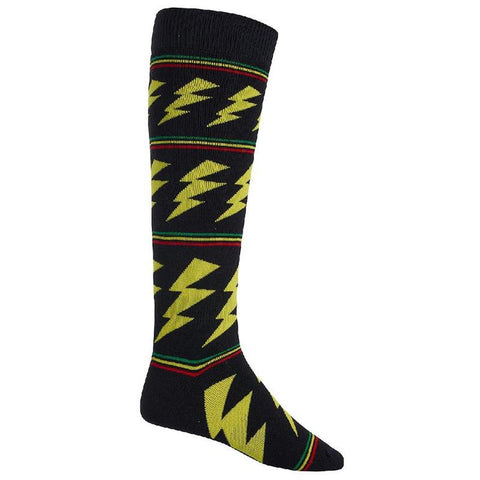 Burton Party Snowboard Socks Rasta Bolts pure board shop