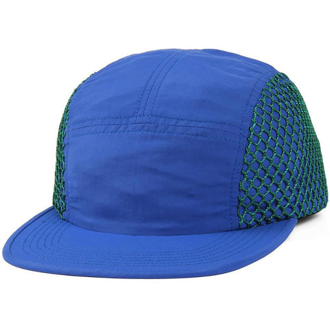 Butter Goods Mesh 5 Panel Camp Hat Royal Green Butter Goods Summer 2018 pure board shop