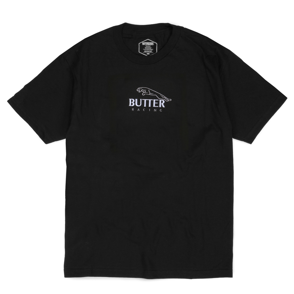Butter Goods Racing T-Shirt Black