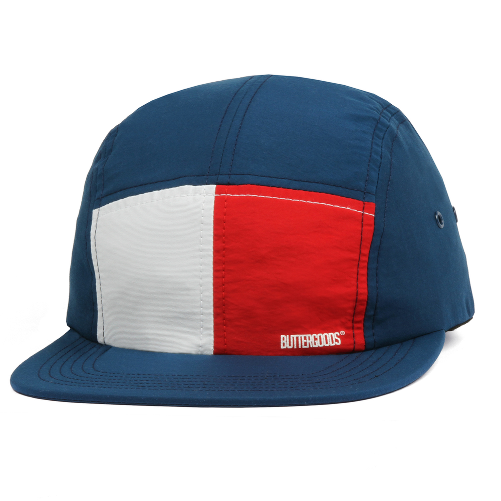 Butter Goods Split 5 Panel Hat Navy