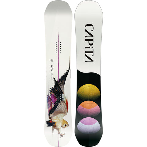 Capita Birds Of A Feather Womens Snowboard 2020 142cm 1911272 pure board shop