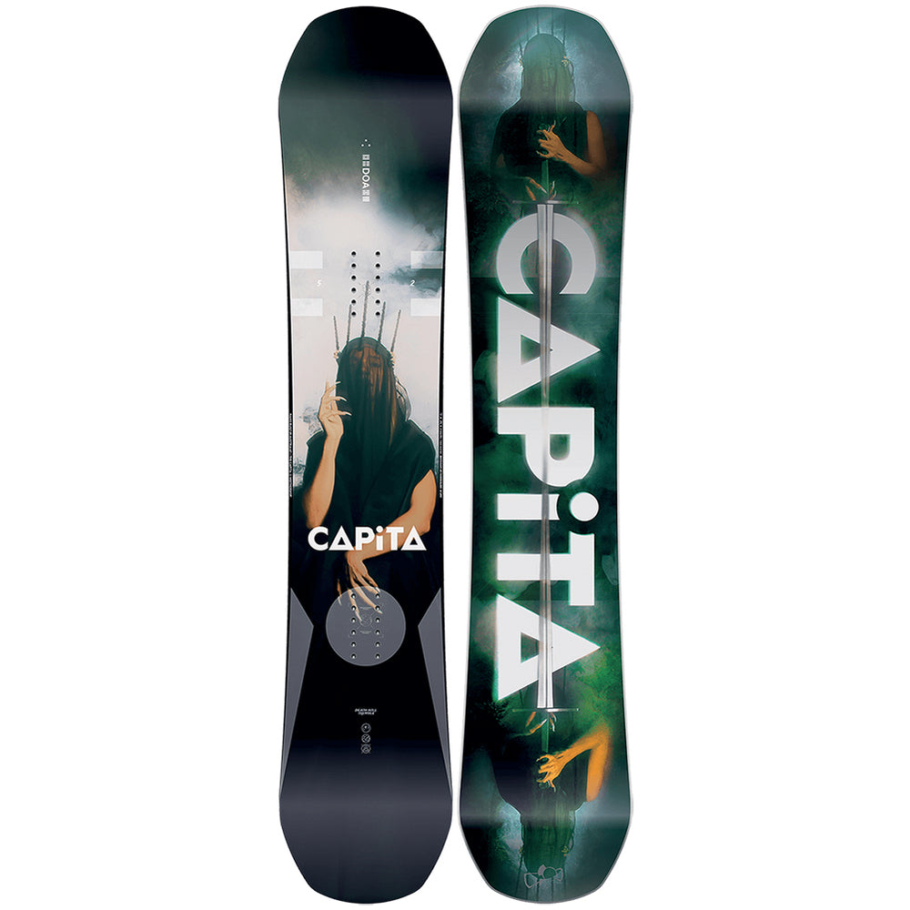 Capita Defender Of Awesome Mens Snowboard 2019 152cm 1811123 Capita DOA  Snowboard pure board shop 87e6664b373