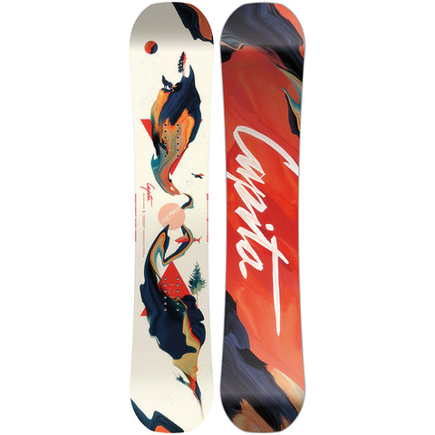 Capita Space Metal Fantasy Womens Snowboard 2020