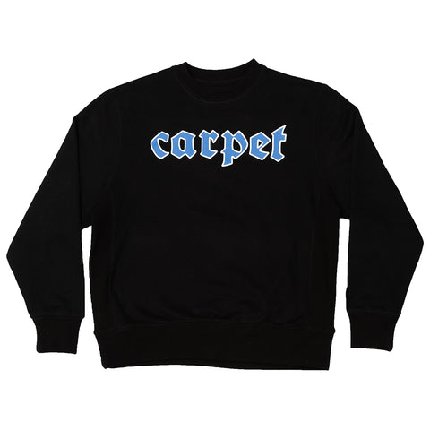Carpet BBYBOI Crewneck Sweatshirt Black Carpet Company Season 11 Pure Board Shop