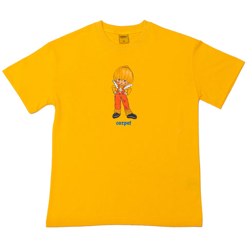Carpet BBYBOI T-Shirt White Carpet Company Season 11 Gold