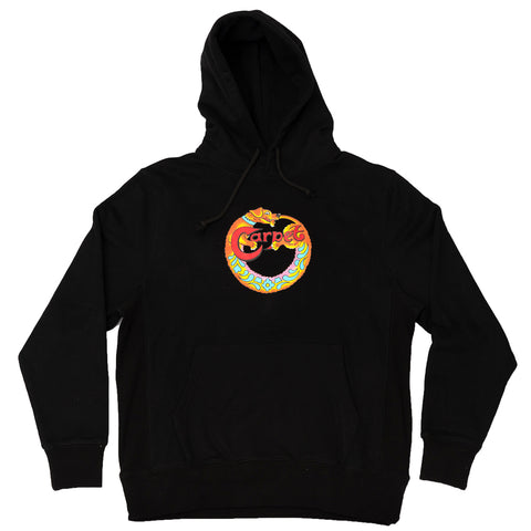 Carpet Dog Atiba Pullover Hoodie Black Carpet Company Season 11 Pure Board Shop