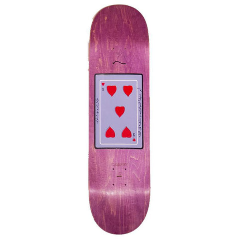"Copy of Carpet 99 Hearts Skateboard Deck 8.38"" pure board shop"