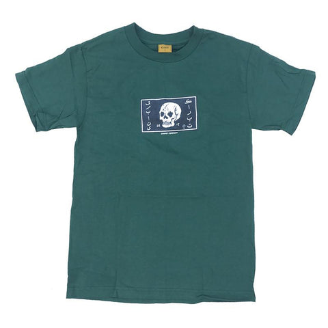 Carpet Arab Skull T-Shirt Forest Green pure board shop