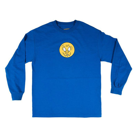 Carpet Company Corny Long Sleeve T-Shirt Royal pure board shop
