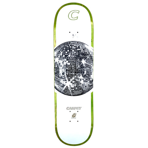 Carpet Company Disco UV Skateboard Deck 8.25
