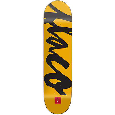 Chocolate Perez Nick Names Skateboard Deck 8.37