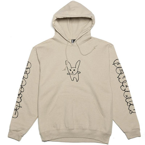Chrystie Summer Rabbit Pullover Hoodie Sand pure board shop