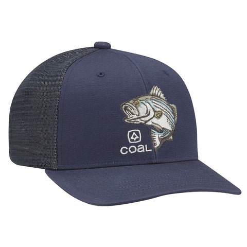 Coal The Wilds Low Profile Trucker Hat Bass Stripper Pure Board Shop