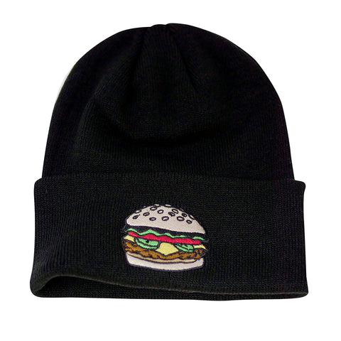 Coal The Crave Beanie Black Burger Pure Board Shop