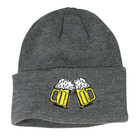 Coal The Crave Beanie Heather Grey Beer Pure Board Shop