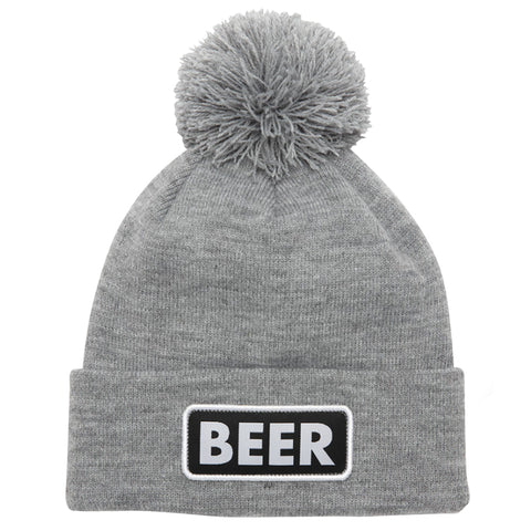 Coal The Vice Beanie Beer Heather Grey Pure Board Shop