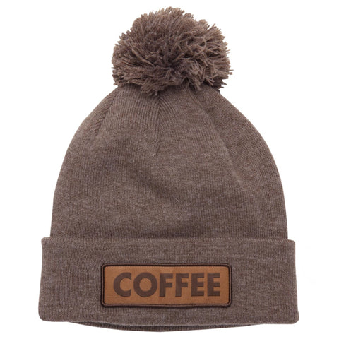 Coal The Vice Beanie Coffee Heather Brown Pure Board Shop