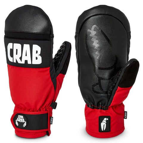 Crab Crab Punch Snow Mitten Red Pure Board Shop
