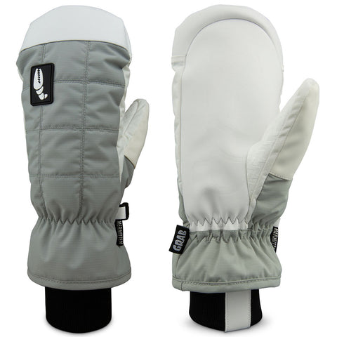 Crab Grab Mermitten Womens Snow Mitten Grey pure board shop